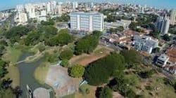 Parque vitoria regia em Bauru