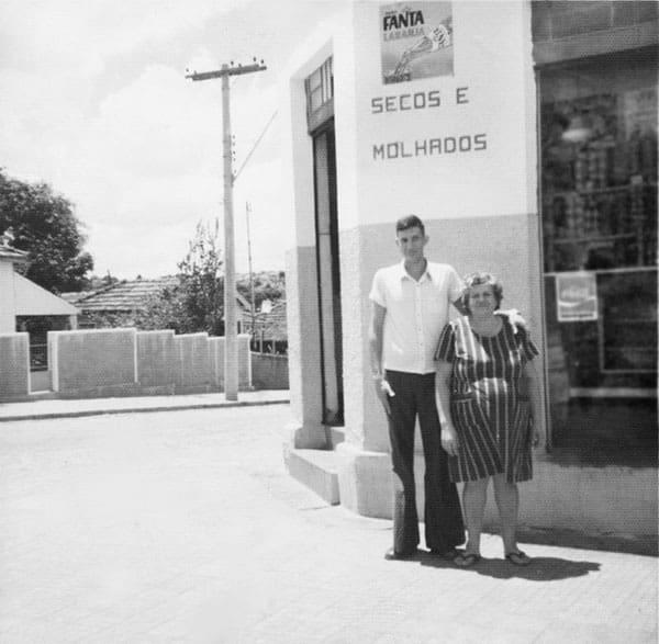 Imagem familia Zogheib - Em frente ao Secos e molhados Confiança Supermercados